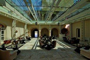 Castle lobby